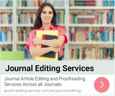 Editing and Proofreading Services for Journal Articles