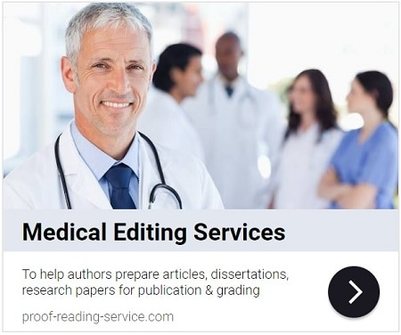 Medical Editing Services and Medical Proofreading