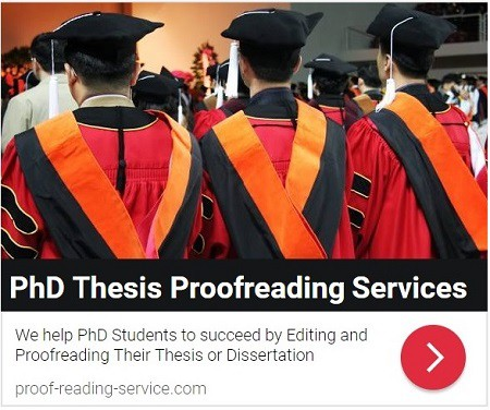 PhD Thesis Editing and Proofreading Services
